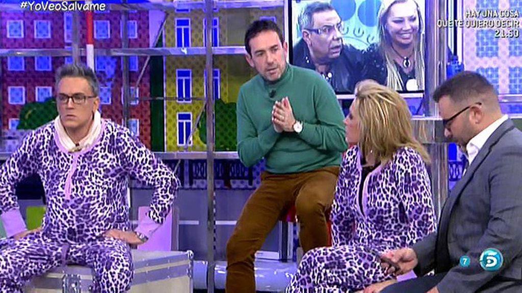 pijama Belén Esteban