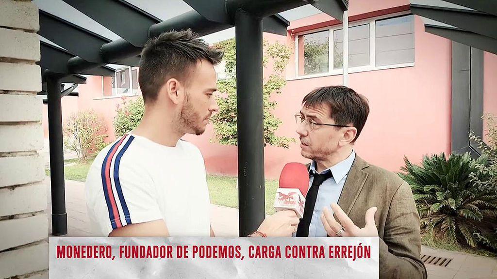 """Juan Carlos Monedero ataca a Iñigo Errejón: """"Por su aventura perdimos Madrid"""""""