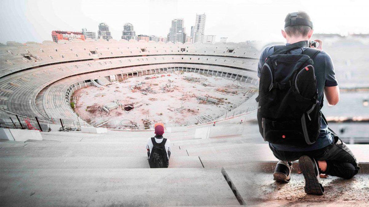 Dos youtubers se cuelan en el Nuevo Estadio del Valencia y muestran el abandono de sus obras