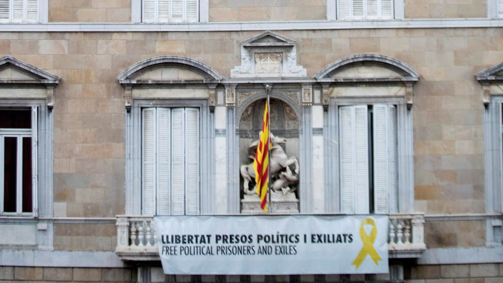 Torra rechaza retirar la pancarta del lazo de la Generalitat y presentará un recurso al TSJC