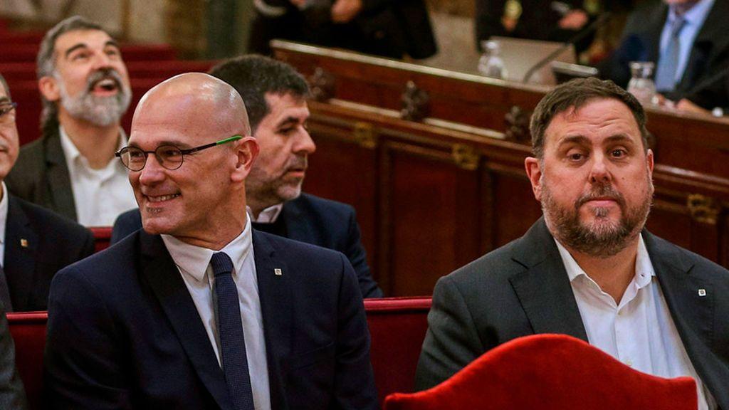 Oriol Junqueras y Raul Romeva se proponen  como candidatos de ERC para el 10N