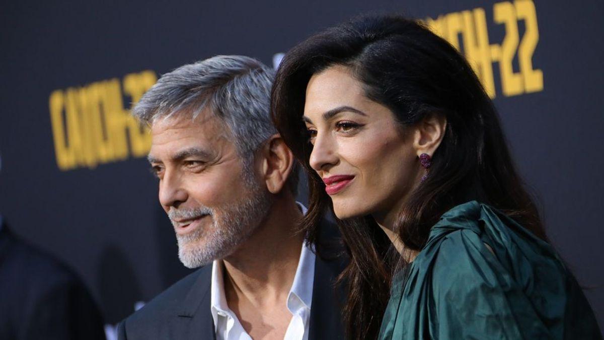 George Clooney y su esposa, obligados a gastar miles de euros en seguridad tras ser amenazados de muerte