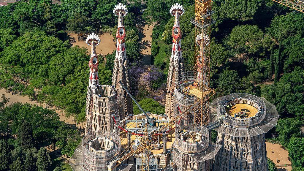 Las obras de la Sagrada Familia entran en la recta final y estarán acabadas en 2026
