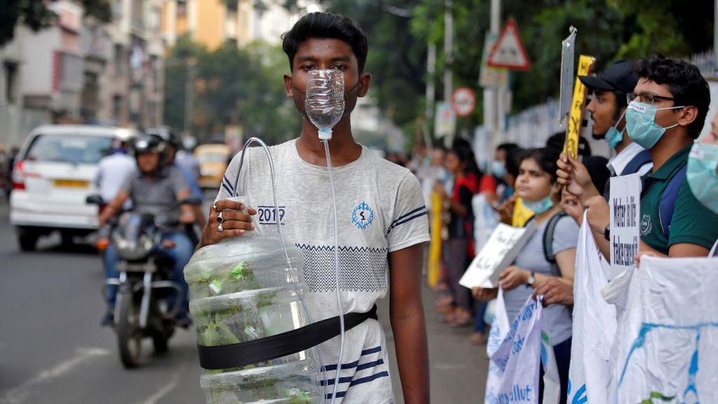 Todo ayuda a la concienciación del cambio climático en India
