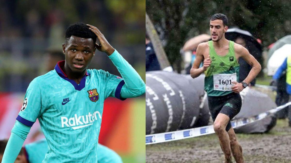 """La indignación de un atleta marroquí con la nacionalidad de Ansu Fati: """"Más de 16 años en España y el ministerio de justicia aún no sabe nada."""""""