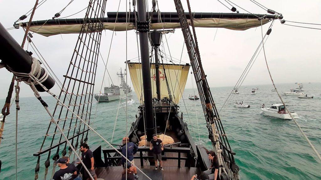 Andalucía se rinde a la epopeya de Magallanes y Elcano