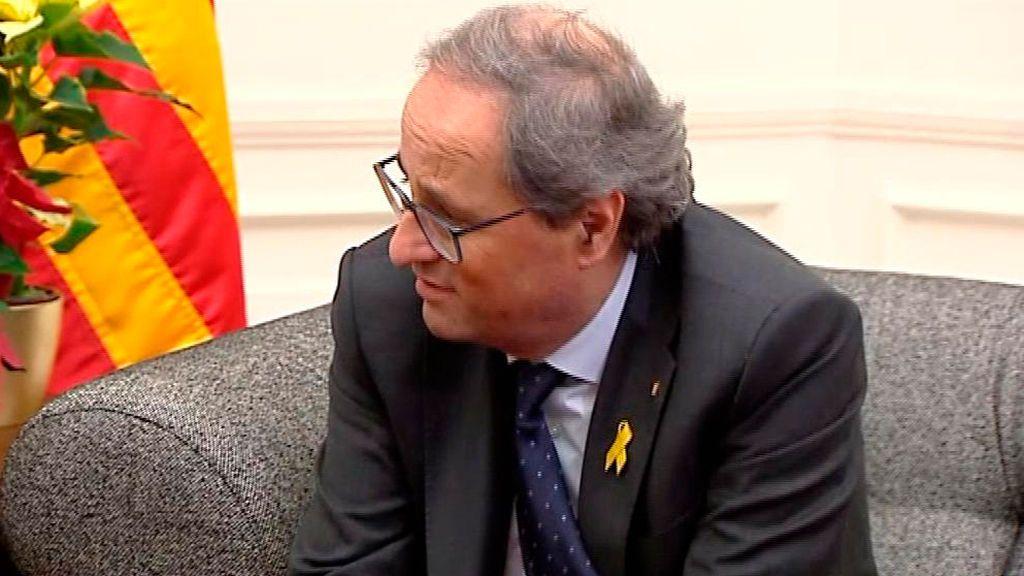 Aplazado el juicio contra Torra por los lazos amarillos hasta el 18 de noviembre