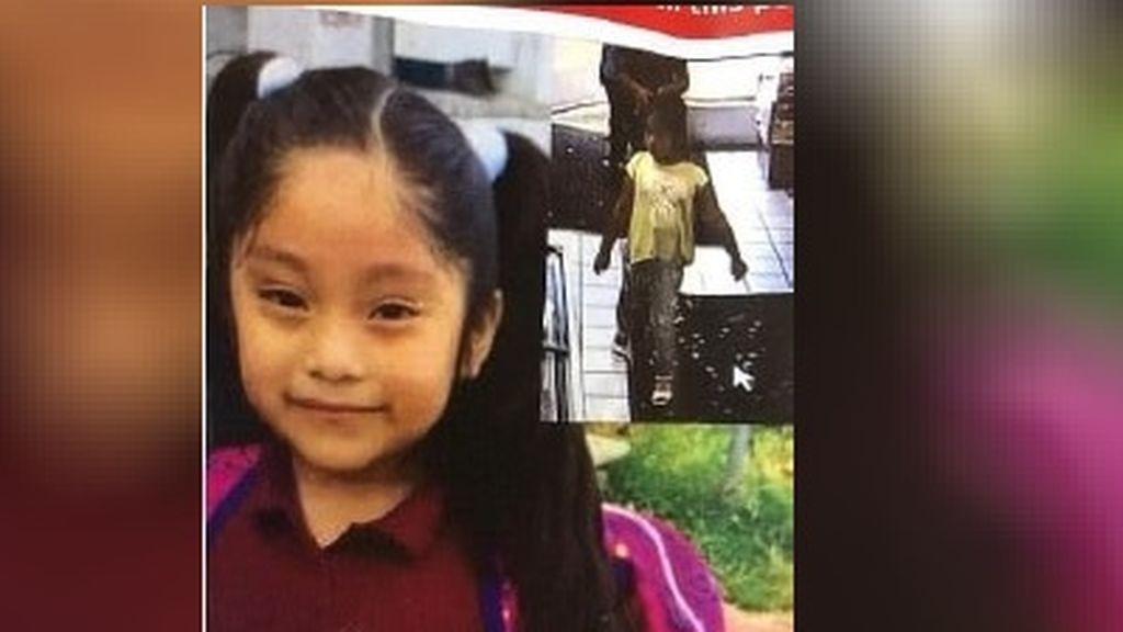 Continúa la búsqueda de Dulce María, una niña de 5 años: la policía cree que ha sido secuestrada por un hombre