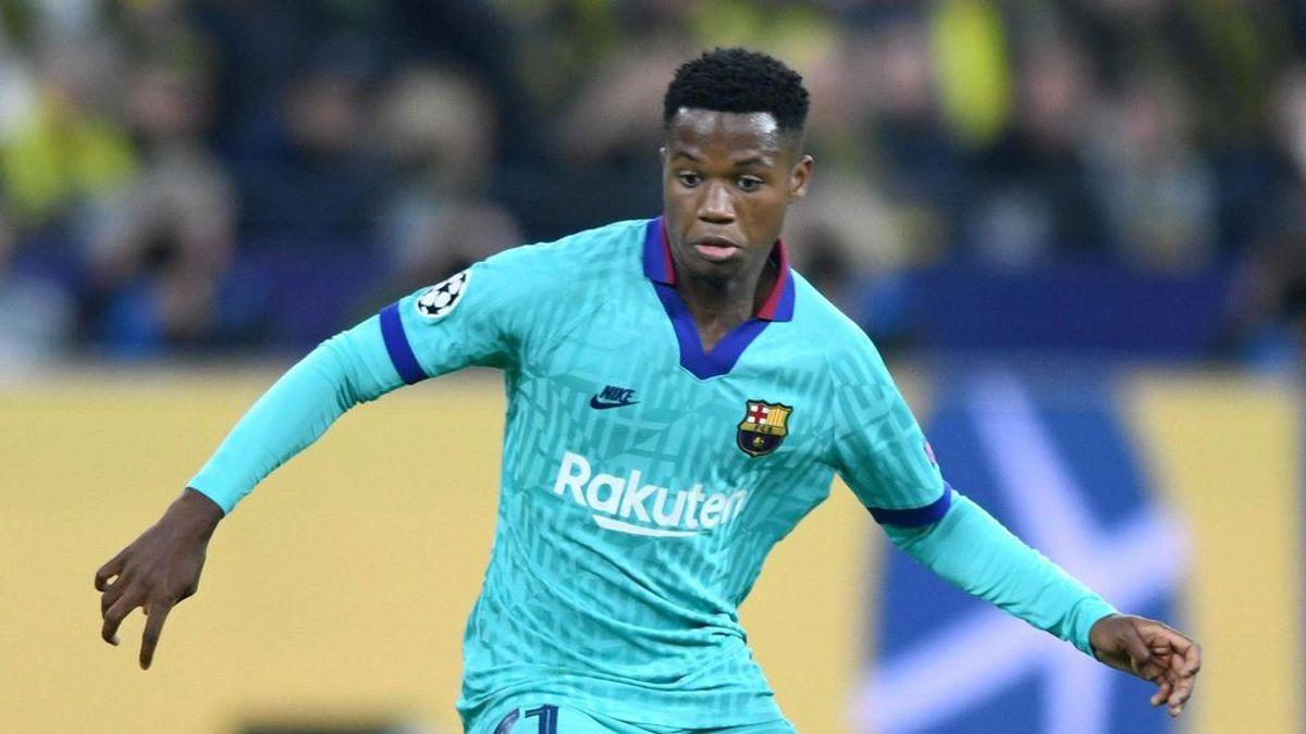 Ansu Fati ya tiene la nacionalidad española y podrá jugar con 'La Roja' en el Mundial Sub 17