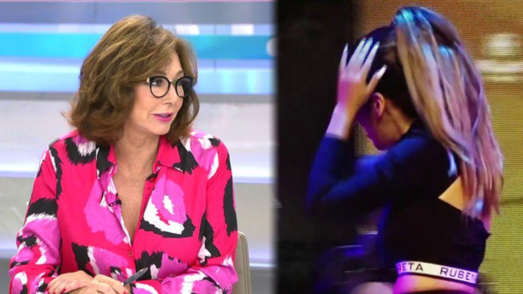 """Ana Rosa, sobre el plantón de Pantoja a su hija Isa: """"Ella lo sabía, hay un montajito"""""""