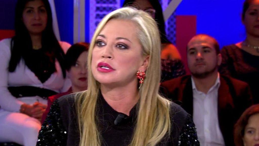 Asraf falta al respeto a Isabel Pantoja cuando le llama para preguntarle por el vídeo en el que agarra a Isa P., según Belén Esteban