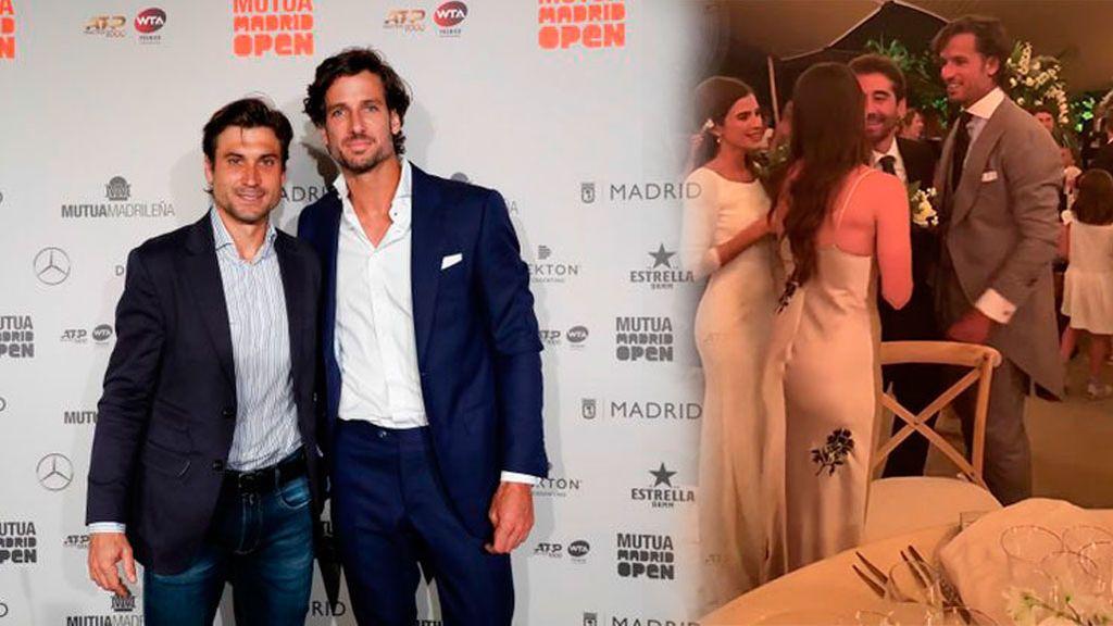 David Ferrer revienta la exclusiva de Feliciano López: Filtra las imágenes de la boda del tenista con Sandra Gago