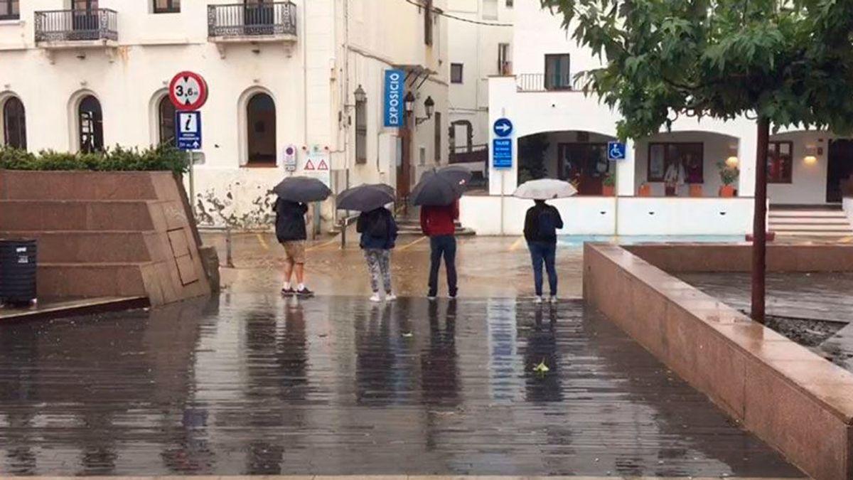 Cataluña en alerta naranja por fuertes lluvias y tormentas
