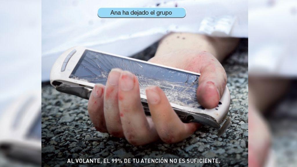 Contra la distracción al volante, 100% de atención: el uso del móvil multiplica por 4 el riesgo de accidente