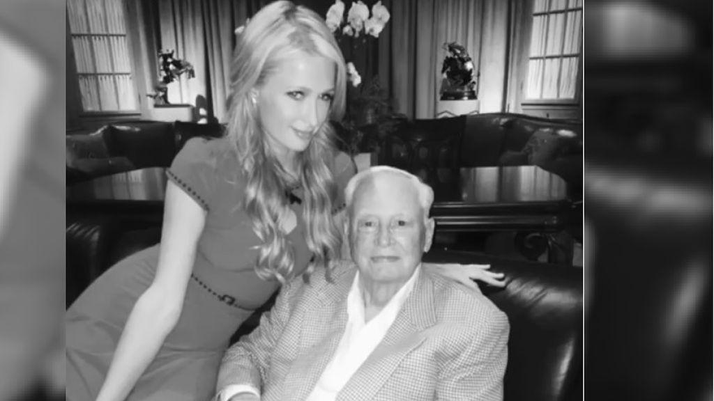 """La emotiva despedida de Paris Hilton a su abuelo fallecido: """"Su espíritu y su corazón vivirá en mí"""""""