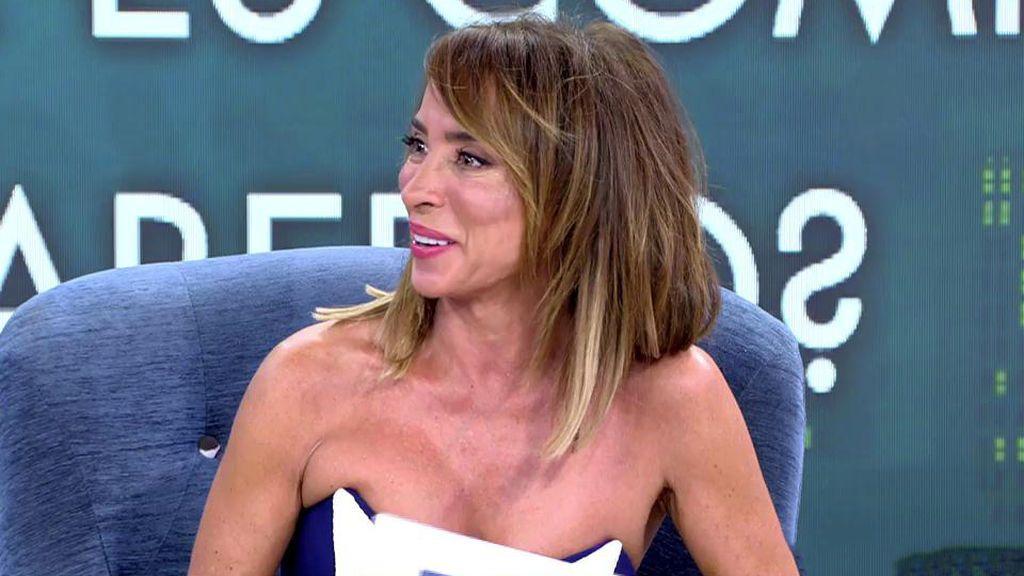 María Patiño alucina con la vida íntima de María Lapiedra y Gustavo