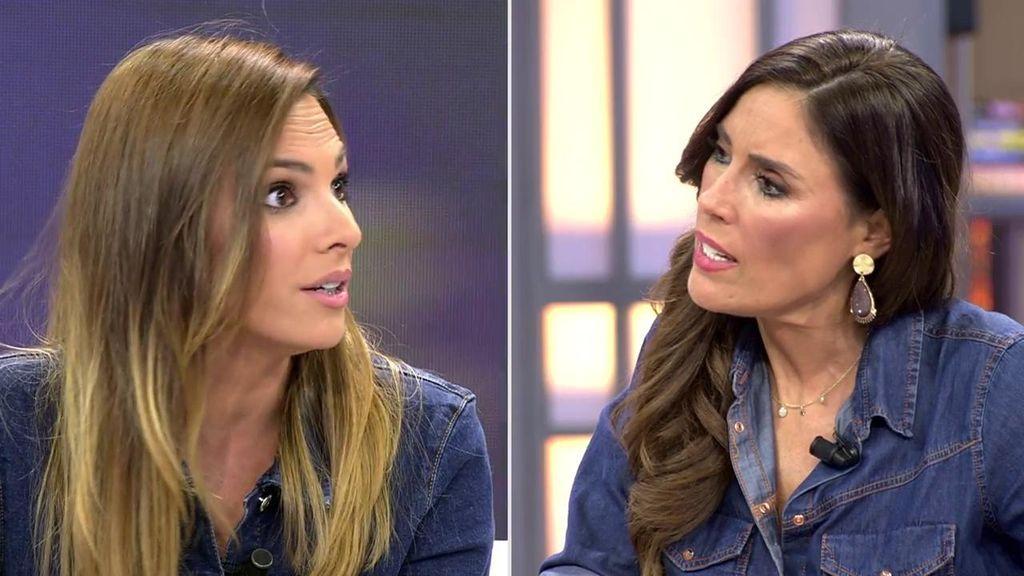 """Irene Rosales, muy enfadada con Isa por usar la palabra 'adicciones': """"Eres una sinvergüenza"""""""