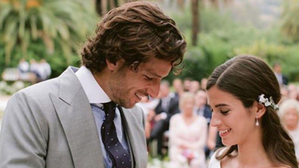 El álbum privado de la boda de Feliciano y Sandra Gago sale a la luz: Así fue el enlace por dentro