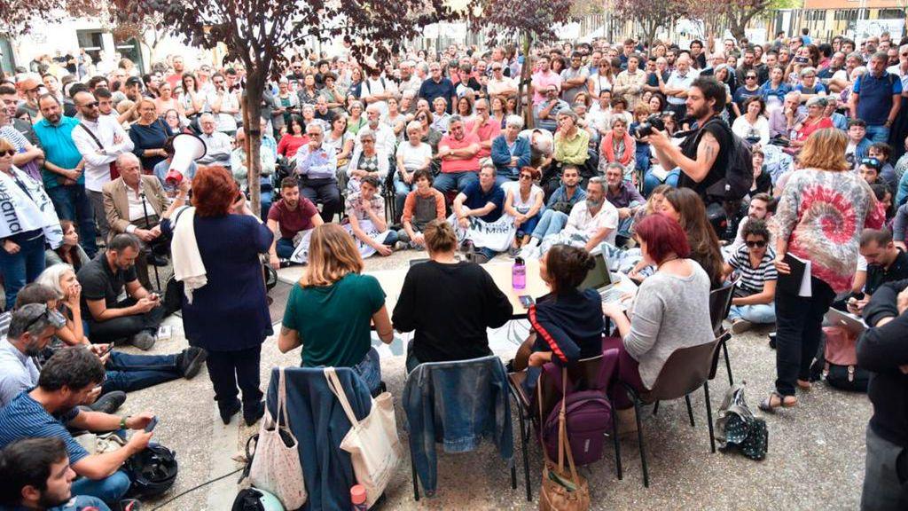 Más Madrid debate el futuro de Errejón de cara al 10-N en una asamblea callejera