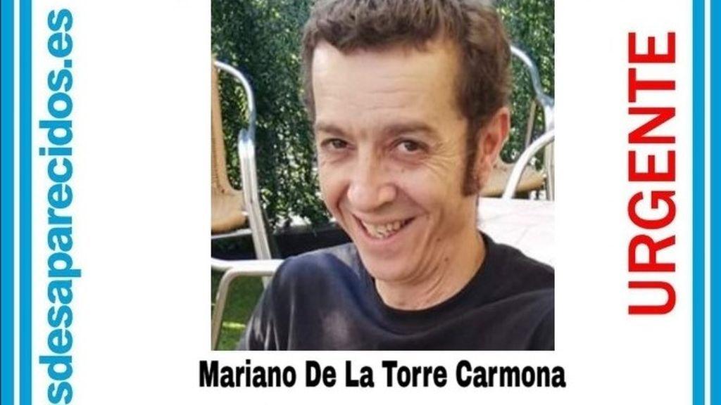 Buscan a Mariano De La Torre, de 46 años, desaparecido desde el pasado viernes en Manzanares el Real