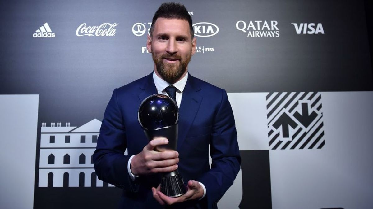 Leo Messi, premio 'The Best' al mejor jugador del mundo