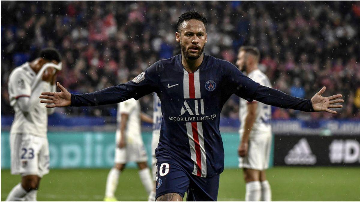 Neymar vuelve a marcar un golazo y ya piden el 'Balón de Oro' para el brasileño