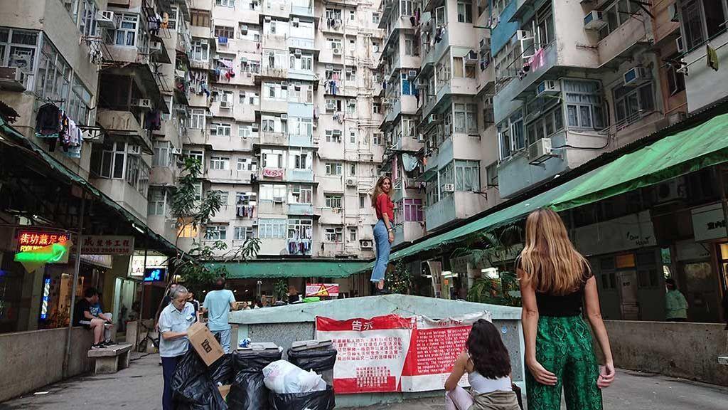 Instagramear el Monstruo: el masificado edificio de Hong Kong que lidia con su popularidad entre los influencers