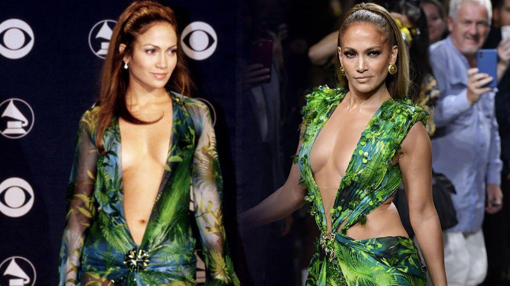 No era solo un vestido: cómo Jennifer Lopez cambió internet con su Versace tropical