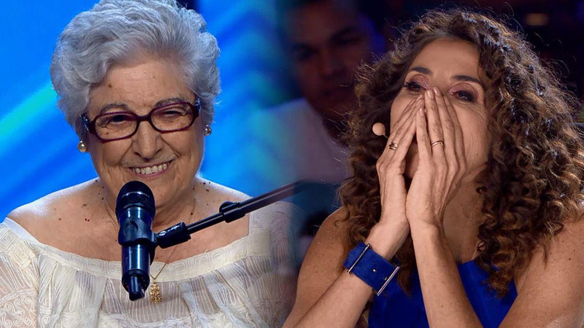 Asunción, de 85 años y madre coraje, emociona a todos con su poesía sobre la vida
