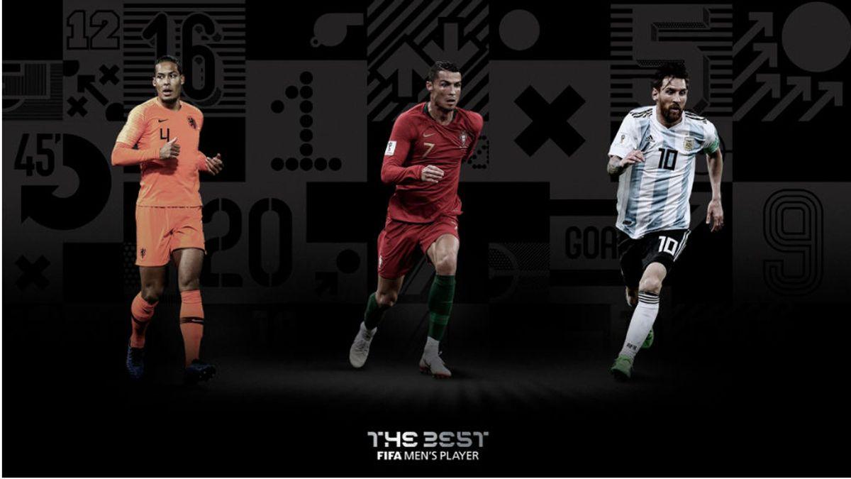 Van Dijk quiere comer en la mesa de Cristiano y Messi: favorito a llevarse el 'The Best'