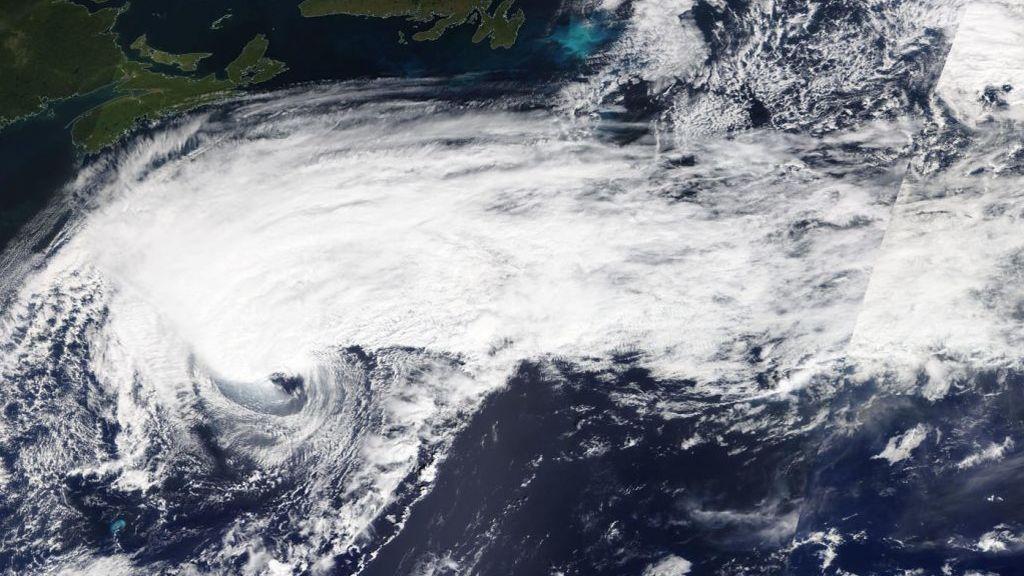 Cómo pasa un ciclón de ser tropical a extratropical
