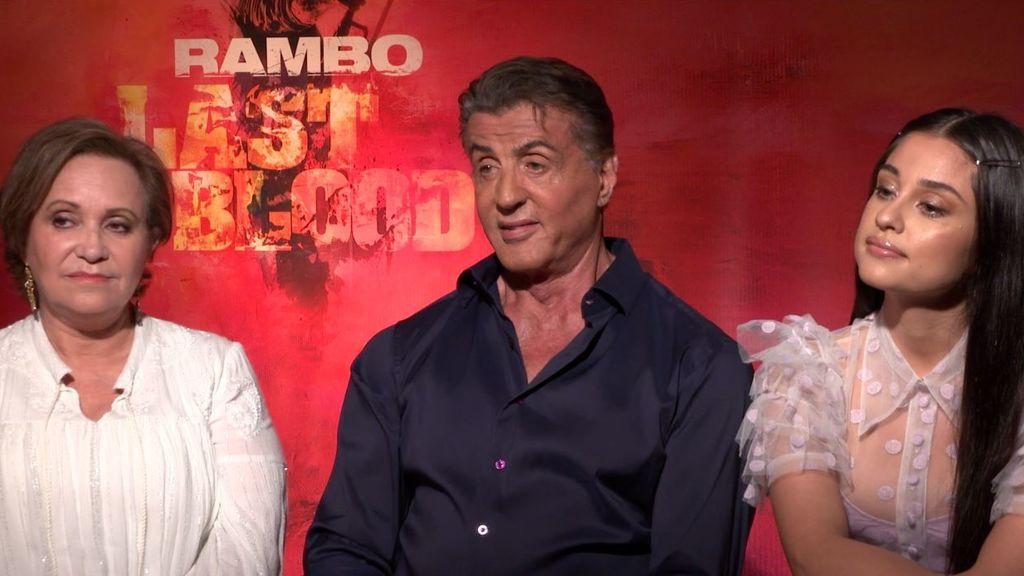 Stallone regresa con Rambo