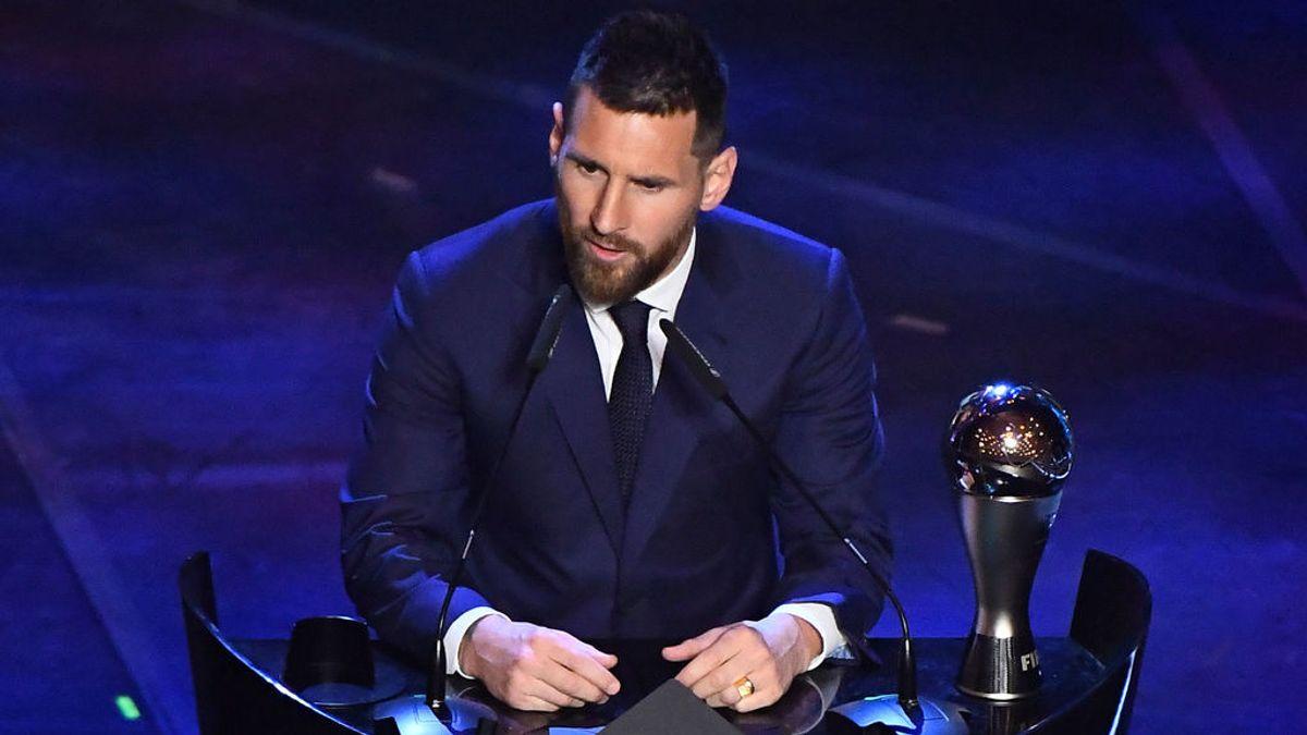 ¿Es Messi justo ganador del premio 'The Best'?
