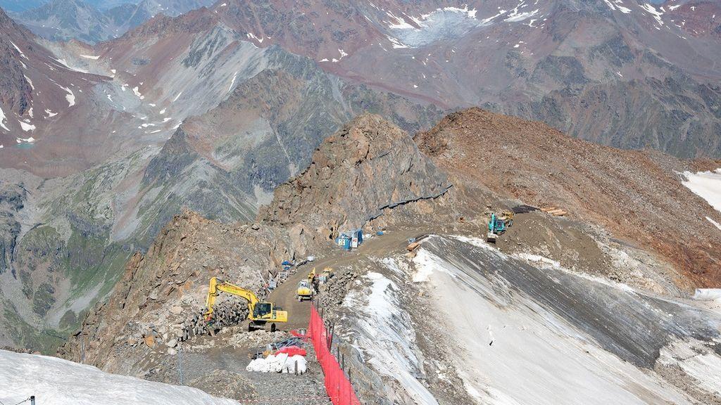 2019 08 27 Pitztal_Bauarbeiten am Gletscher ©WWF_VincentSufiyan18