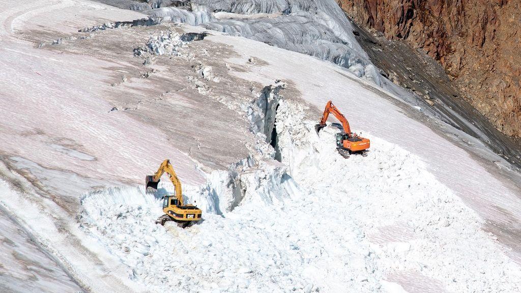 Se nos va de las manos: destruyen un glaciar para crear una estación de esquí