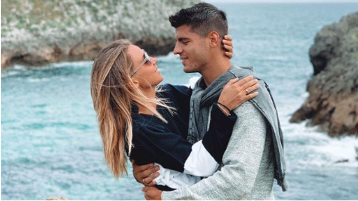 """Álvaro Morata y Alice Campello, a por su tercer hijo en solo 14 meses: """"Estamos en ello"""""""