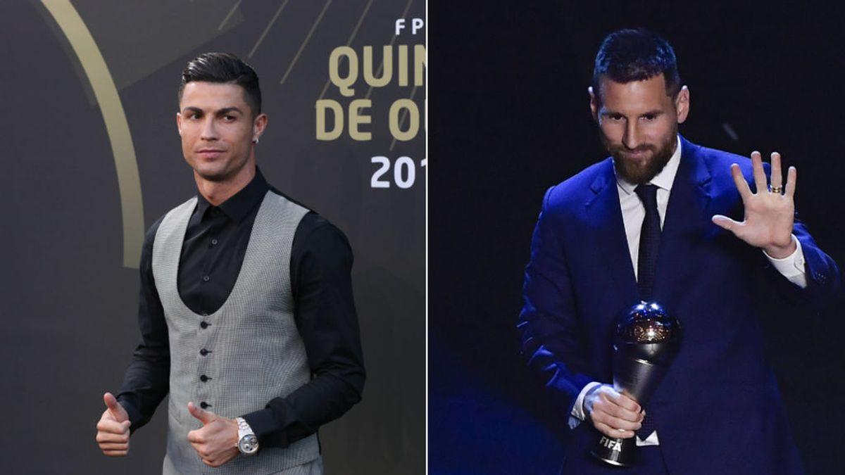 Las tres veces que Cristiano pudo votar a Messi y no lo hizo cuando ganó el Balón de Oro o el 'The Best'