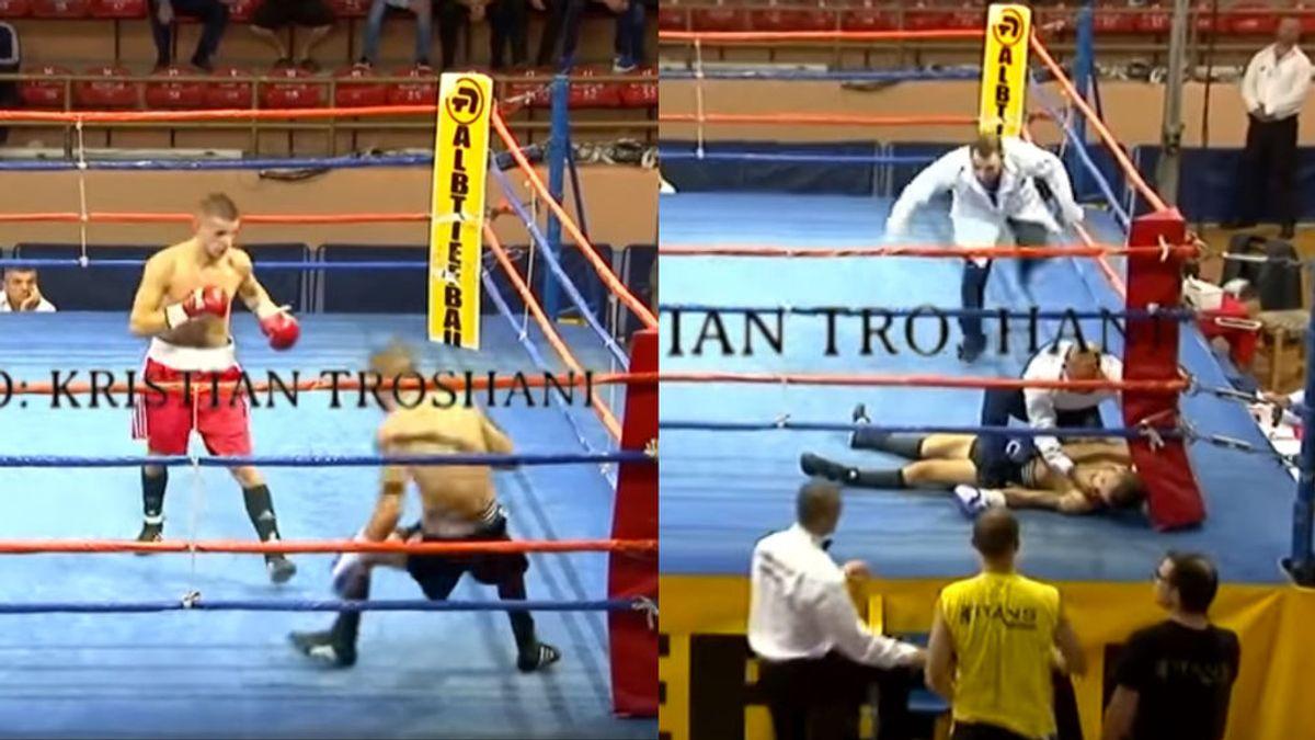 Un boxeador búlgaro de 21 años muere en el ring tras hacerse pasar un año por su primo