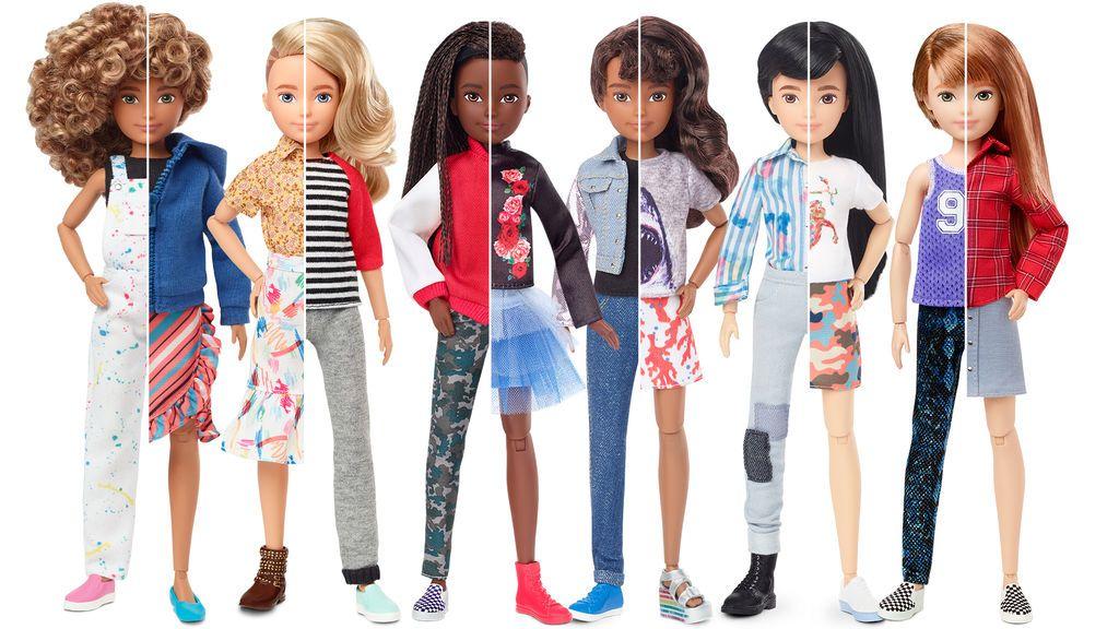 La forma de jugar ha cambiado: llegan nuevos muñecos de género inclusivo