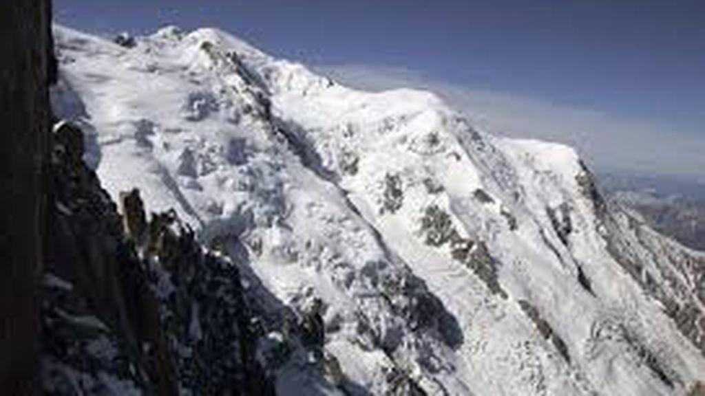 Evacuaciones ante la posibilidad de que colapse un glaciar del Mont Blanc