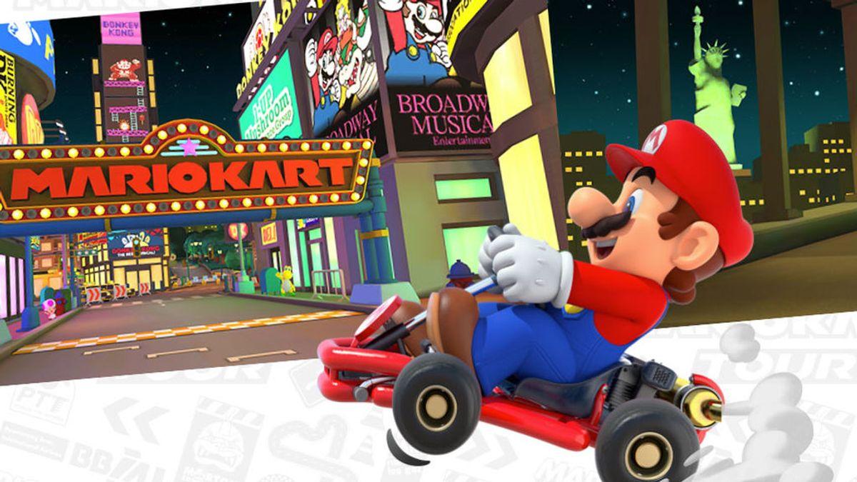 Mario Kart Tour ya está disponible para iOS y Android