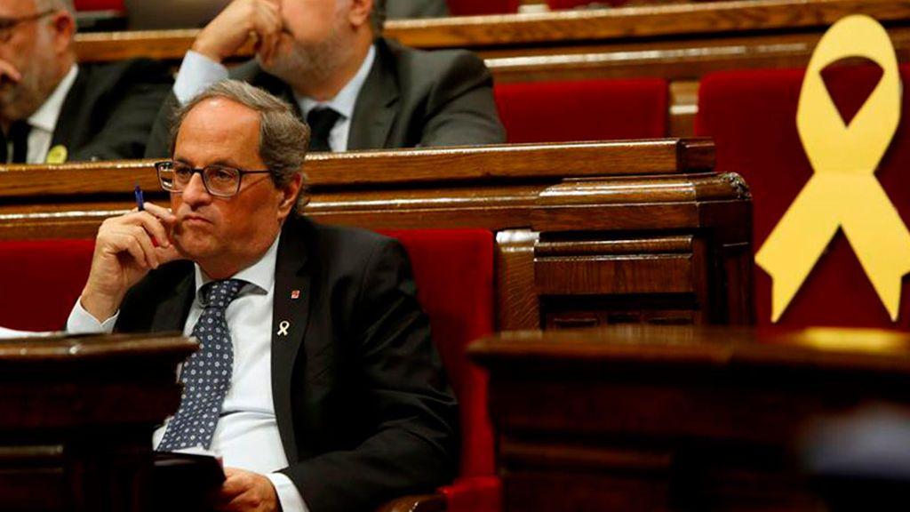 Acusaciones, lamentos y reproches en el debate de política general del Parlament de Cataluña