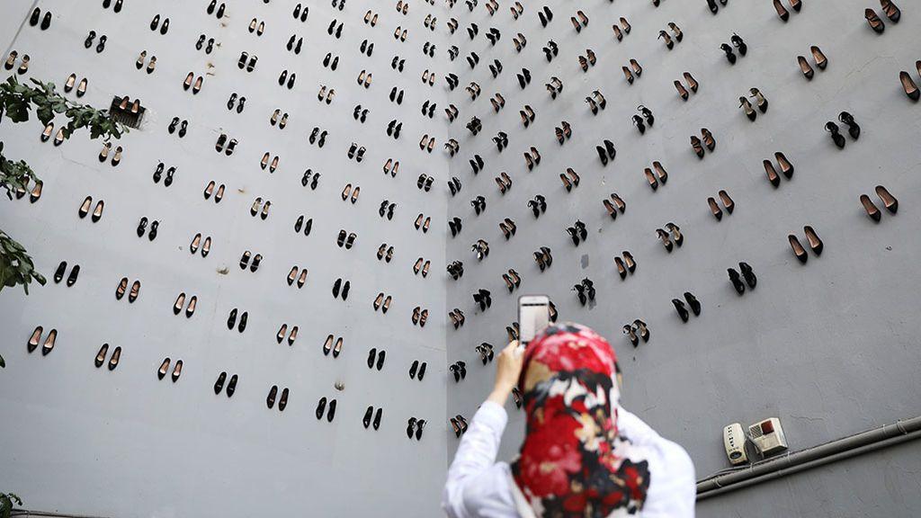 El conmovedor memorial de Estambul que recuerda a las mujeres asesinadas por sus maridos