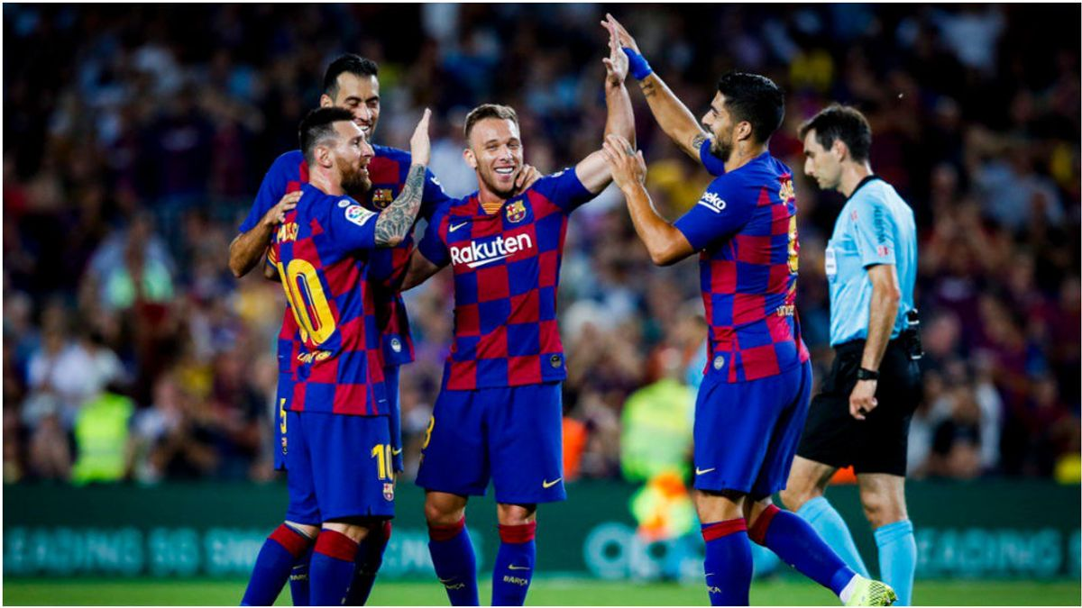 El Barcelona gana sufriendo al Villarreal con Messi lesionado de nuevo (2-1)