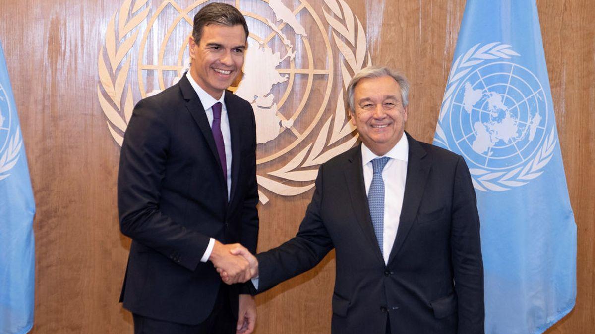 Sánchez se compromete a aportar 350 millones de euros para la lucha internacional por el clima, la salud y el desarrollo