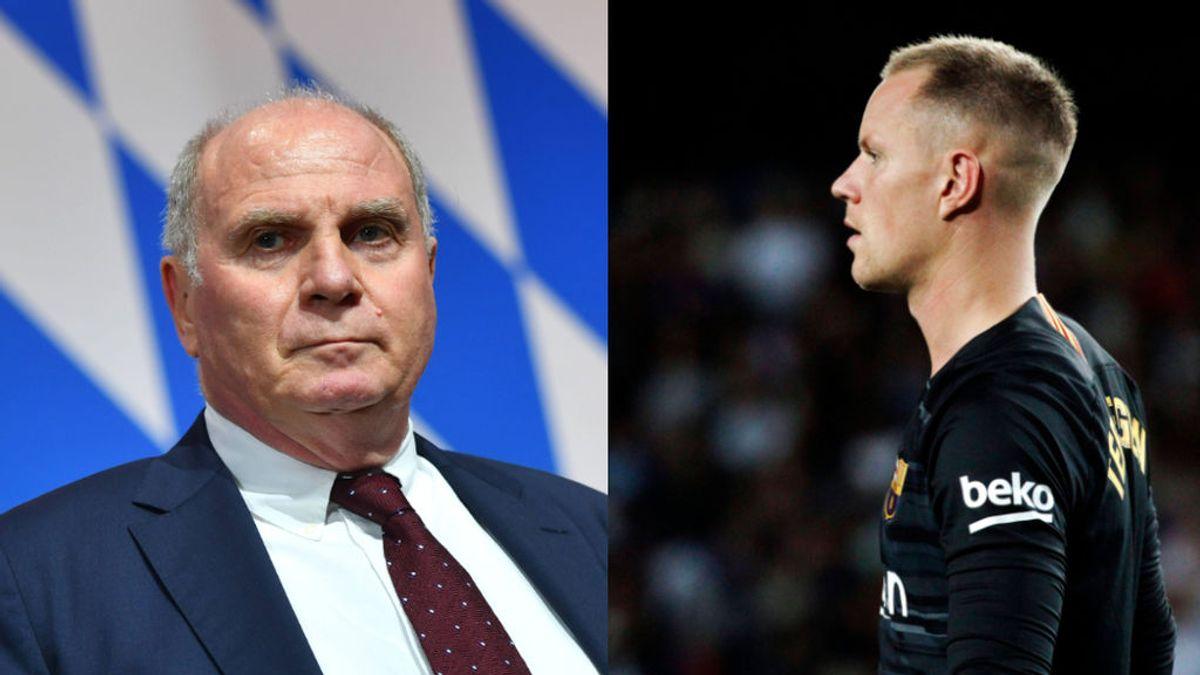 Hoeness se retracta y retira la amenaza de boicot a la selección alemana si Ter Stegen es titular en detrimento de Neuer