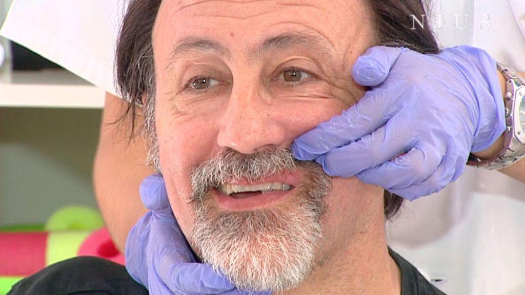 """Luis Miguel Domínguez: """"Yo no no noto tanto la parálisis facial"""""""