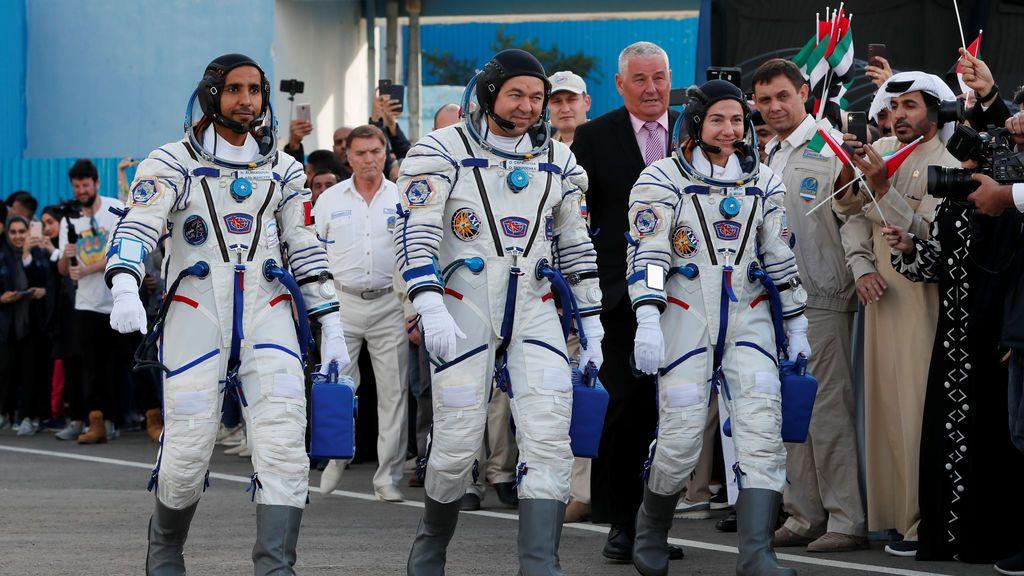Hazzaa AlMansoori, el primer emiratí enviado al espacio: Dubái florece en su industria espacial