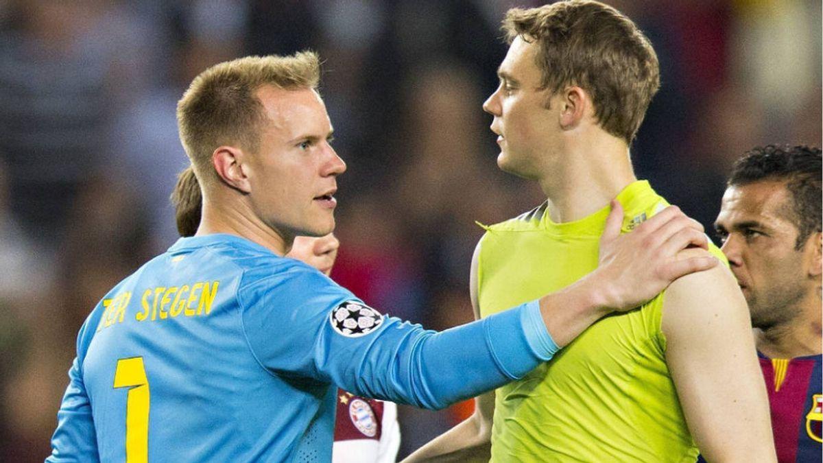 El Bayern Munich amenaza a la selección alemana con no ceder a sus jugadores si Ter Stegen es titular por delante de Neuer