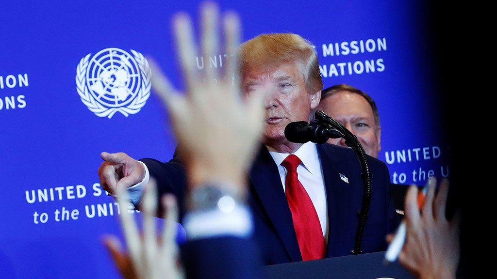 """Trump sobre el impeachment: """"Todo es una caza de brujas"""""""